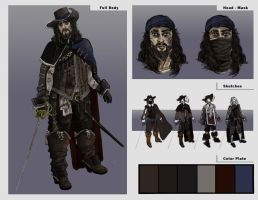 Concept: Former Musketeer by DarkTime005