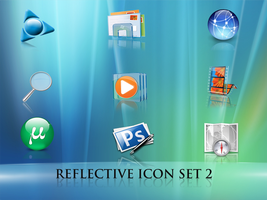 Reflective icons by LiquidsnakE4