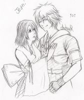 Tidus n Yuna for Jeanfs by Audreyrosa