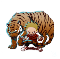 I'm Calvin and This is Hobbes by CLE2