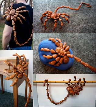 Posable Facehugger by Cyle