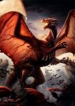 Queen of red dragons by Azany