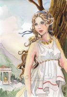 Oracle of Delphi by NicoleCadet