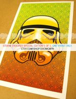 Storm Trooper Special Edition 1 of 1 Poster by DoomCMYK
