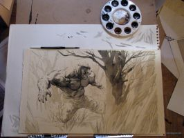 Wolverine Commish by Kerong