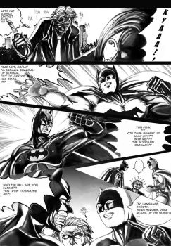Dark Knight: BW fan project 01 by cric