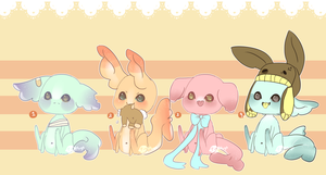 Gummi Shark Puppies 6 .:Closed:. by Pieology