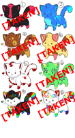 -OPEN! kitten adoptables! by Dellisa121