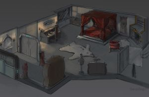 Rogue Traders room by StoryKillinger