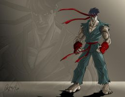 ryu by alxortega
