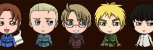 Chibi Hetalia Singles - Final by MatsuoAmon