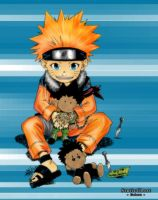 Naruto X Hunter Colored by staticghost