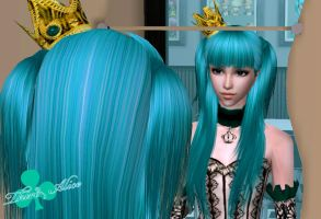 Third Alice VOCALOID Sims 2 by NegativeDanna