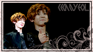 Chanyeol Wallpaper Request by xTHExFUNNNX