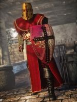 Medieval Knight 2 by LaMuserie