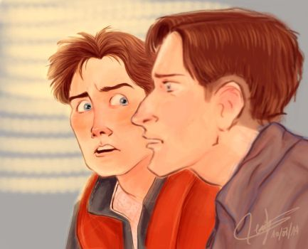 You're George McFly ! by SerifeB