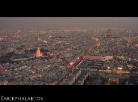 Eiffel Panorama - East Side by Encephalartos