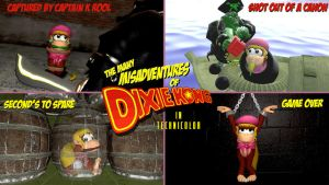The Many Misadventures of Dixie Kong by alyxcaptor