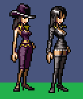 Nico Robin Sprites by thenardsofdoom