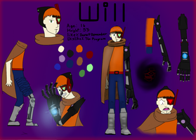 Will Reference Sheet by AndYetNoBananas