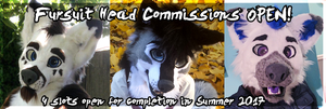 Fursuit Head Commissions CLOSED by WindWo1f