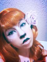 Halloween makeup day 6 by grim-doll