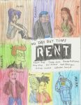 Futurama/RENT by Frosty2011