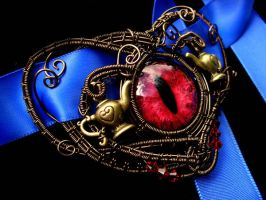 Alice Returns to Madness Inspired Choker Necklace2 by LadyPirotessa
