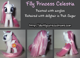 Filly Princess Celestia by Kanamai