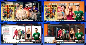 Thema windows7 Big Bang Theory by bir2d
