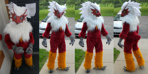 Fawkes Blaziken by Sharpe19