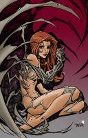 Witchblade by Randy Green by Blindman-CB