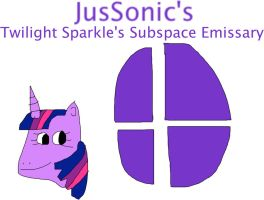 Twilight Sparkle's Subspace Emissary by jacobyel