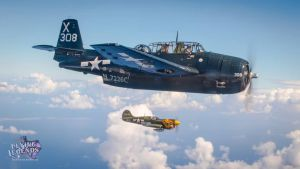 TBM Avenger with Pilot Sam Graves by DesertStormVet