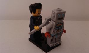 Fixing Lego Robot by MG18