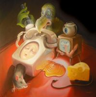 Does a GMO mouse really dream of electric cheese? by sgibb