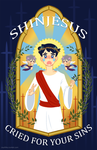 Shinjesus Cried for Your Sins by LissyFishy