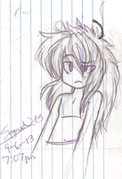 Shirtless anime Jeff attempt=also drawn in cec by AskKawaiiBenDrowned