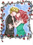 Jace and Clary by paper-tree
