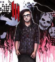 Skrillex by Dykah