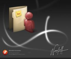 Folder Icon 2 by dellustrations