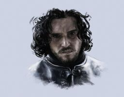 Game of Thrones - Jon Snow. by firatbilal