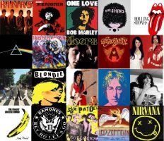 Top 20 Classic Bands by MexicanSeafoodCobain