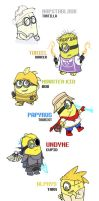 MINIONS - TALE by FeralSonic
