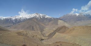 Annapurna Circuit - Day 10 - Mustang View by LLukeBE