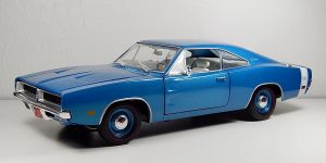 Ertl 1969 Dodge Charger R/T in Blue by Firehawk73-2012