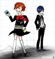 Persona Collab by The-Virgo-Fairy