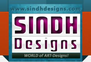 logo for SindhDesigns by rameexgfx