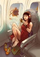 Pepper Airplane by PepperProject