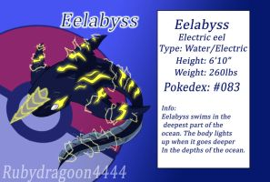 Eelabyss - Water-Electric by Rubydragoon4444